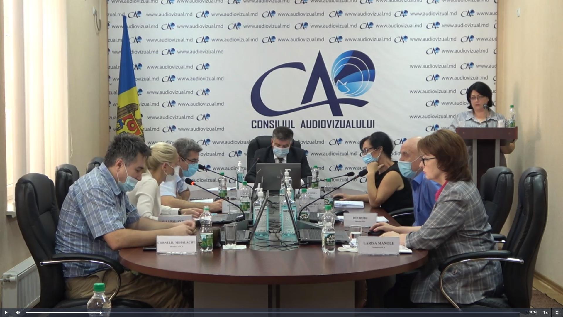 Primele șase petiții expediate la CA în baza plângerilor telespectatorilor, examinate de membrii Consiliului