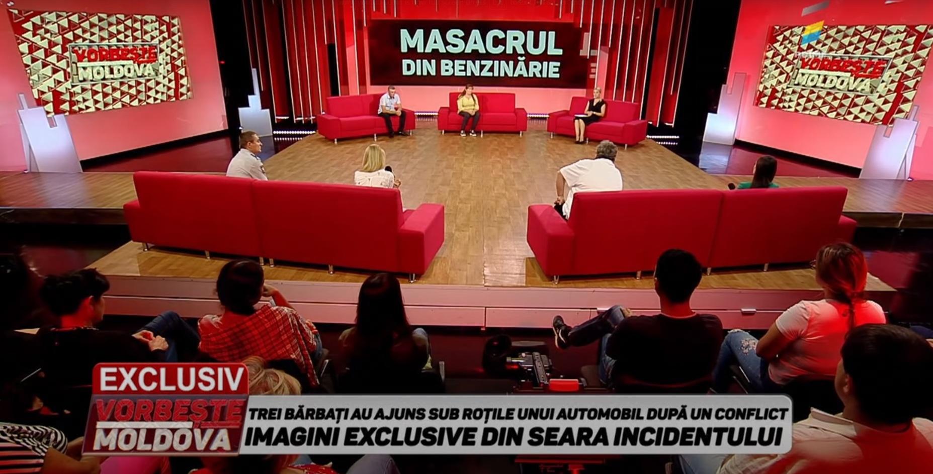 """Avertizare publică pentru scene de violenţă şi limbaj licenţios în cadrul emisiunii """"Vorbește Moldova"""""""