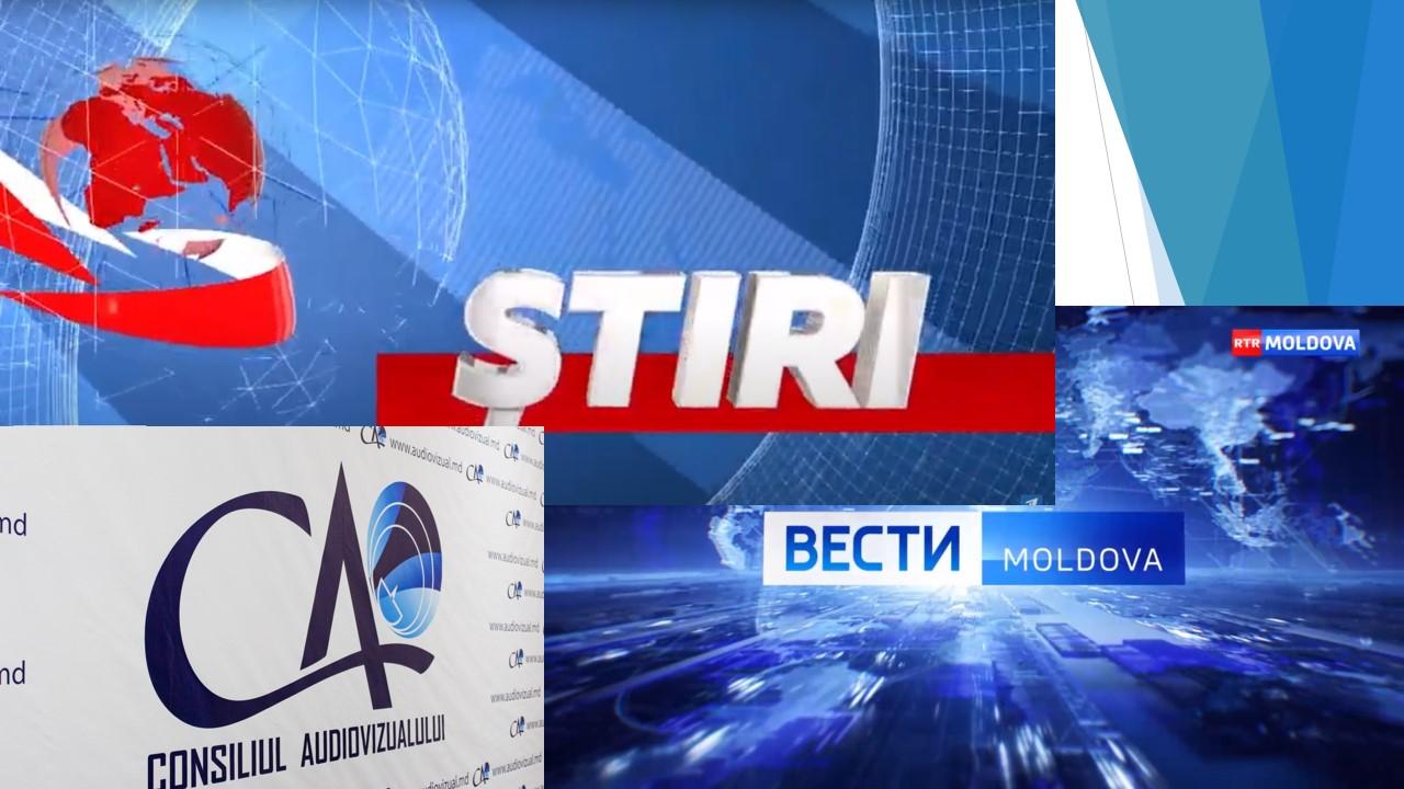 Avertizare publică de la CA pentru RTR Moldova și Primul în Moldova