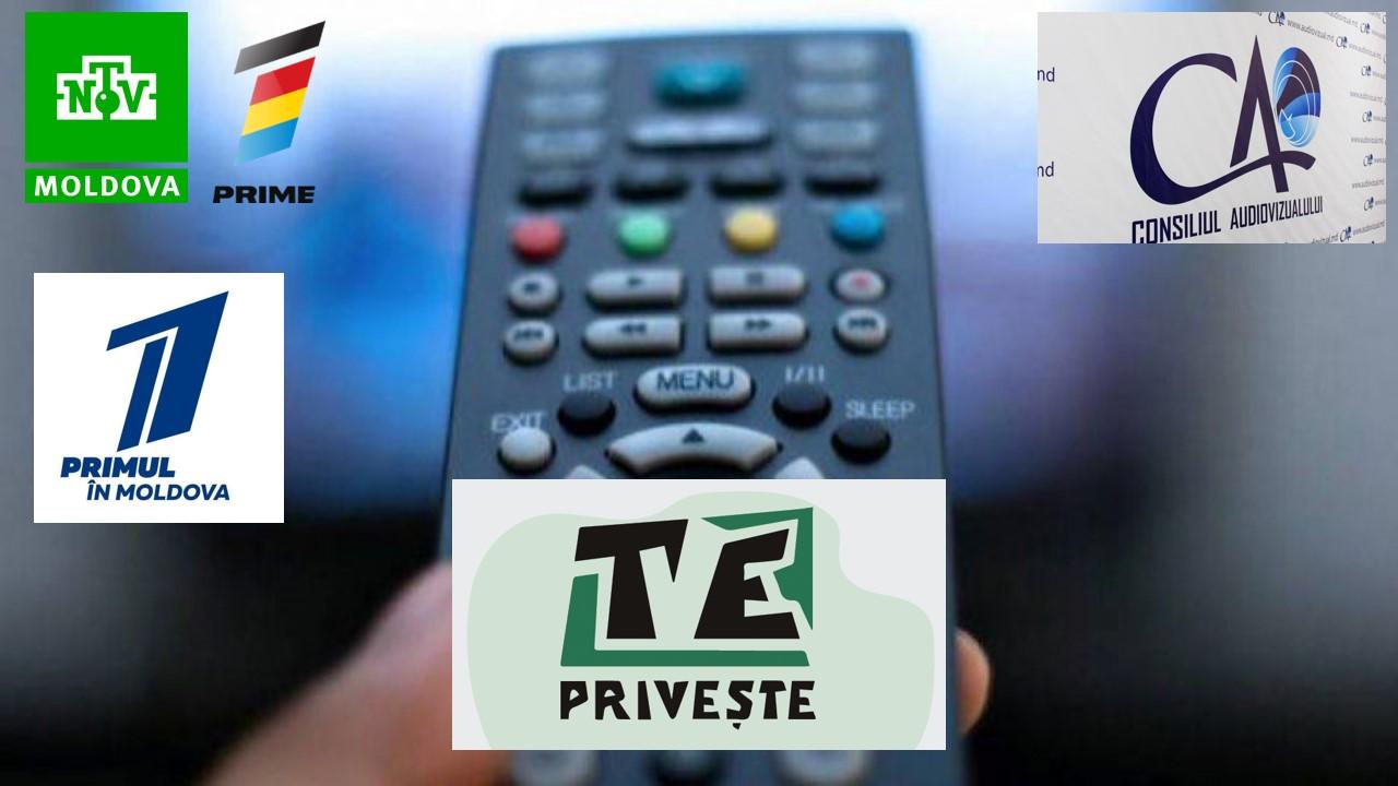 24 de posturi TV, vizate în plângerile telespectatorilor. NTV Moldova, Prime și Primul în Moldova, canalele invocate cel mai frecvent în sesizările de pe platforma T(V)E Privește!
